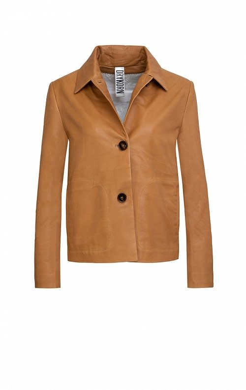 Barbican Leather Jackey-1