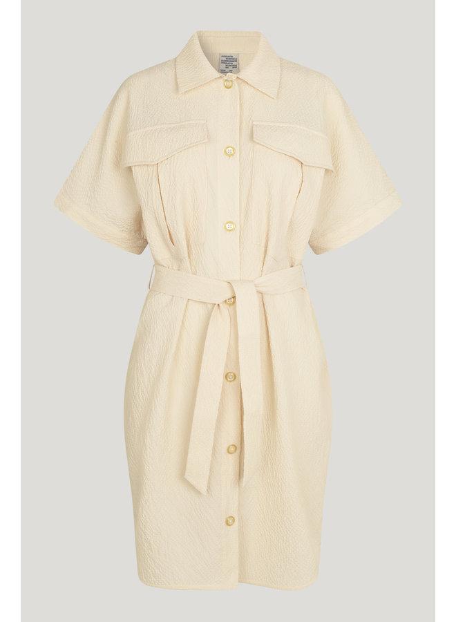 Maena dress cloud Cream