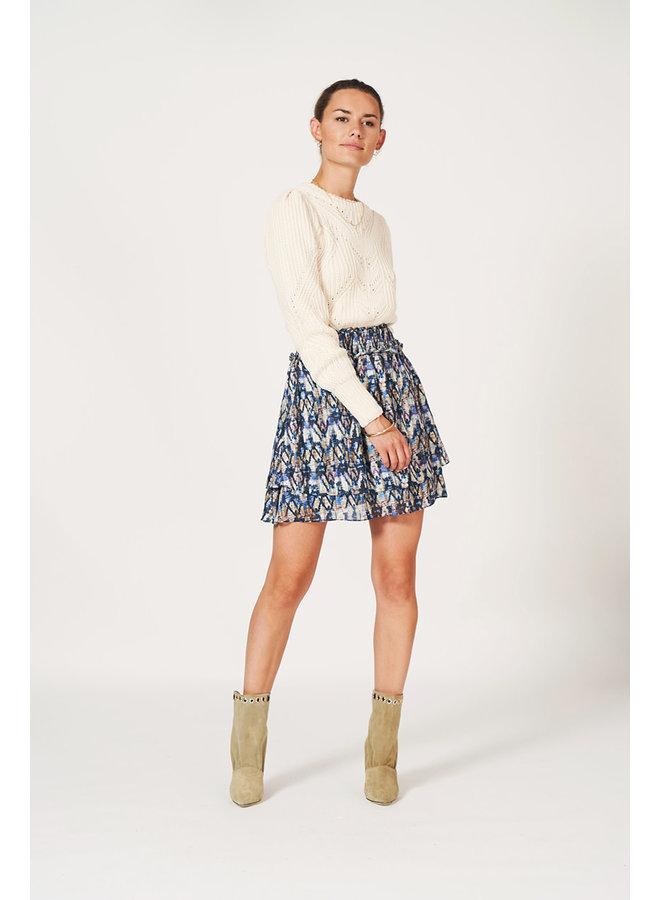 Irina Aztec print Skirt