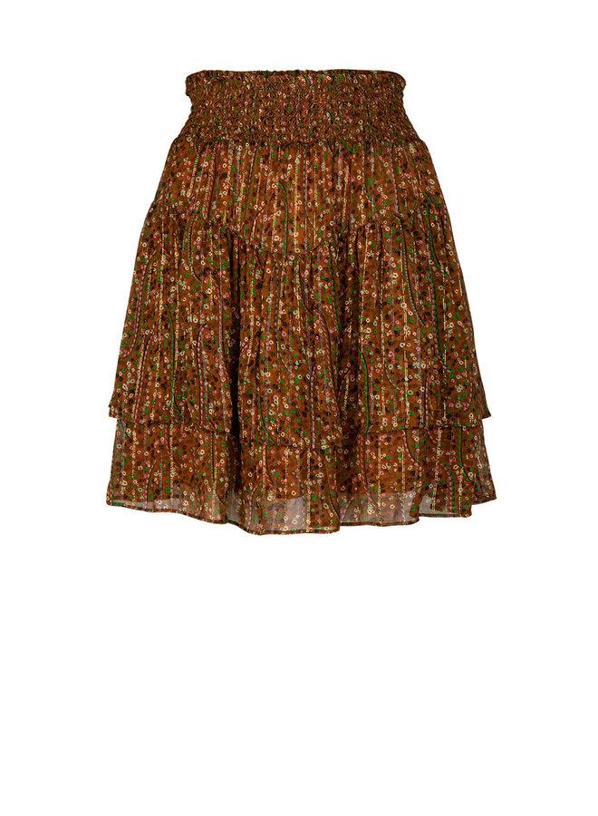 Wonderous Brown Skirt