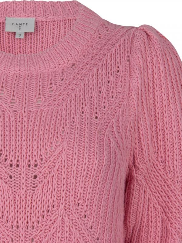 Cleo sweater fresh pink-2