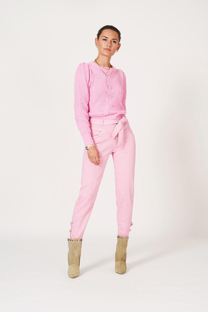 Cleo sweater fresh pink-3