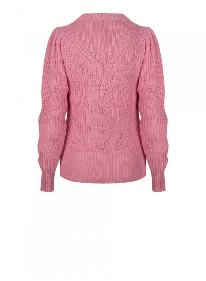 Cleo sweater fresh pink