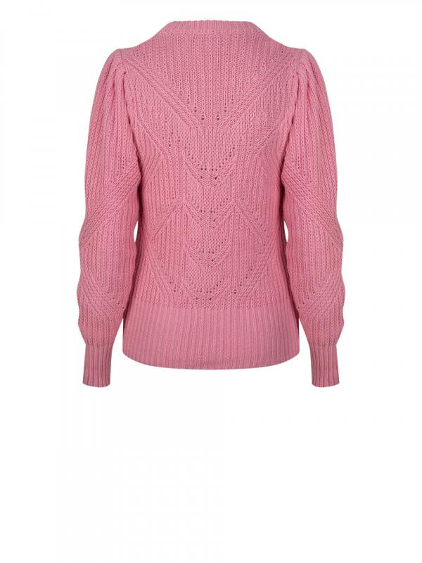 Cleo sweater fresh pink-4