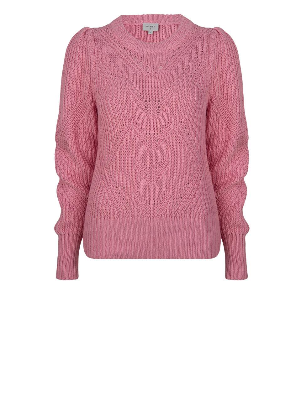 Cleo sweater fresh pink-1