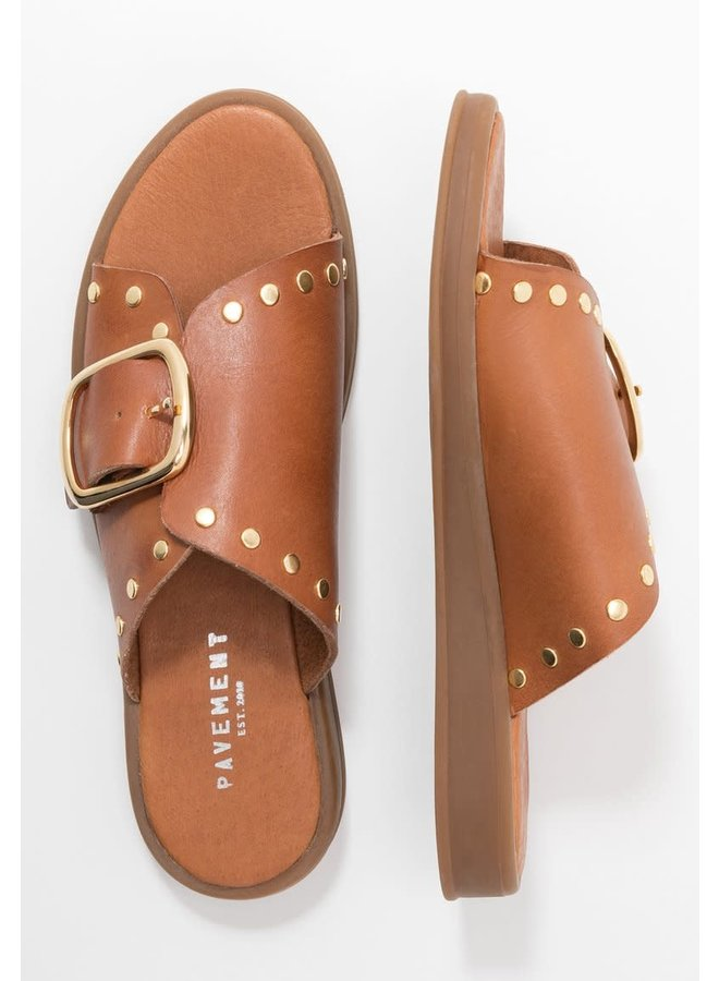 Angela tan slipper