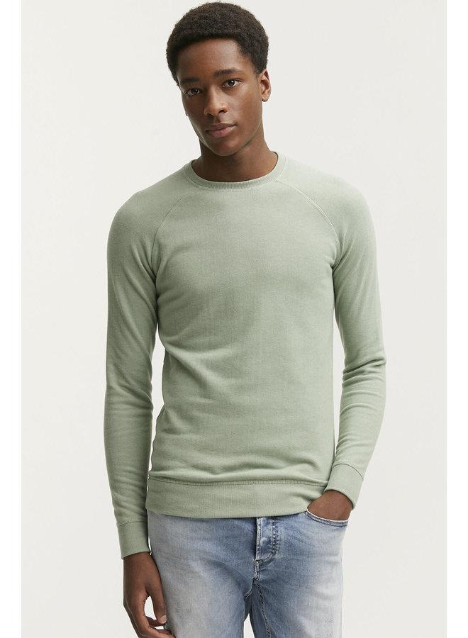 Sweater Raglan crew green