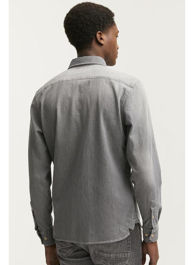 Axel grey denim shirt