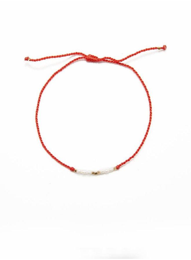 Flori pearls red