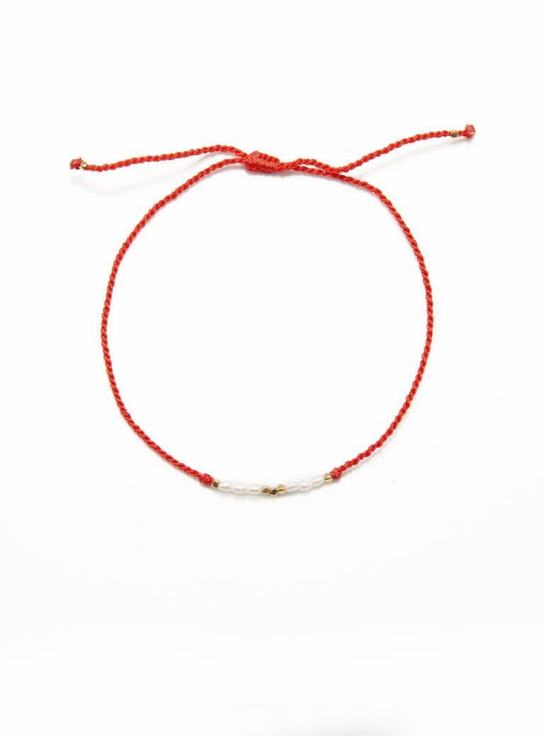 Flori pearls red-1