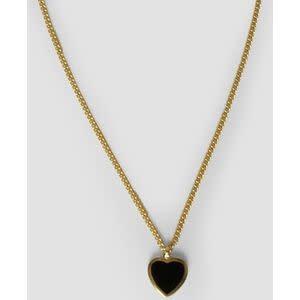 Amore black necklace-1