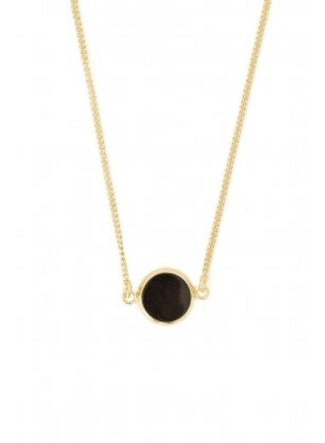 round resin black