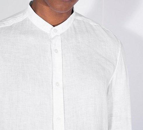 Tarok linnen shirt white 6000-1