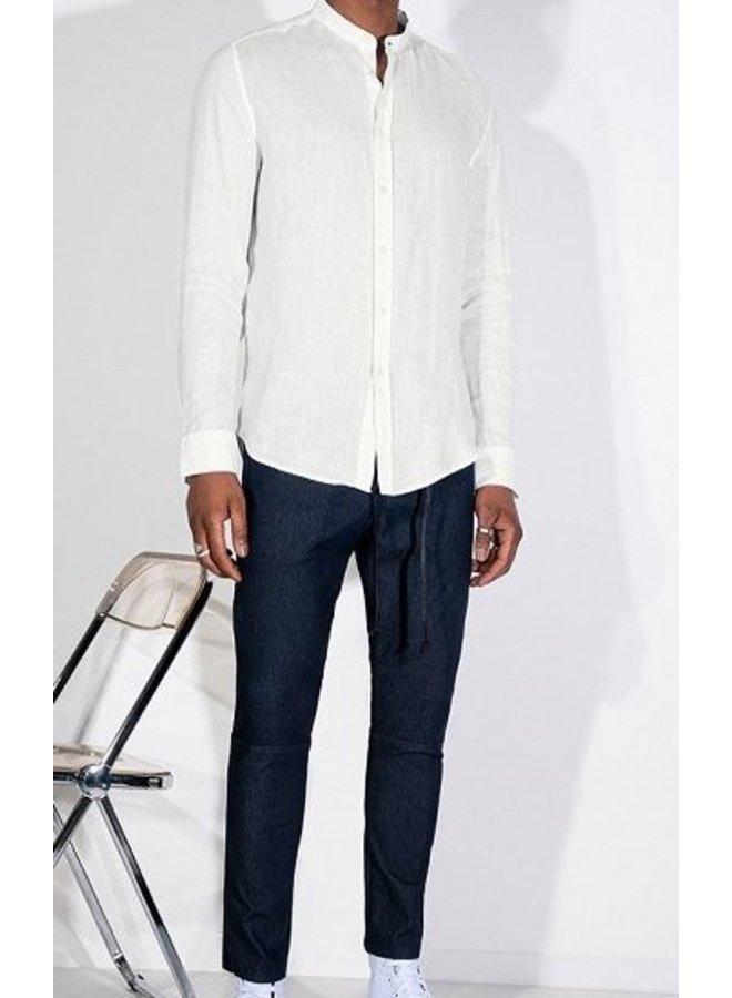 Tarok linnen shirt white 6000