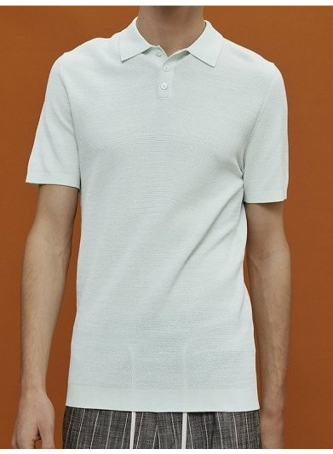 Triton knitted polo mint 2900