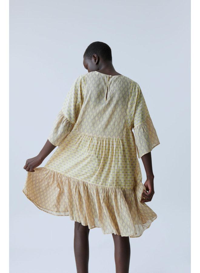 Tennie Dress strong mustard