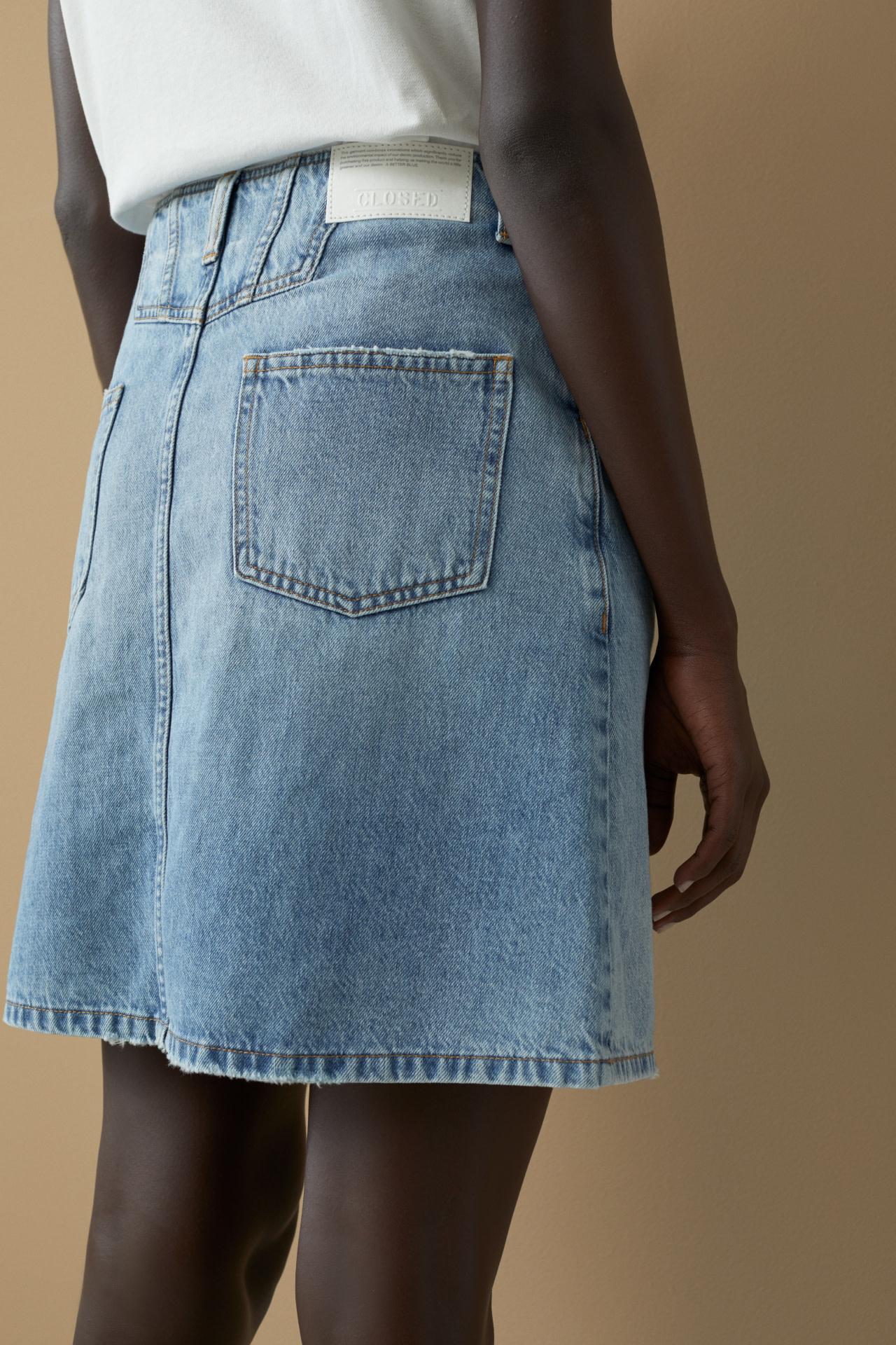 Denim MBL Skirt-2