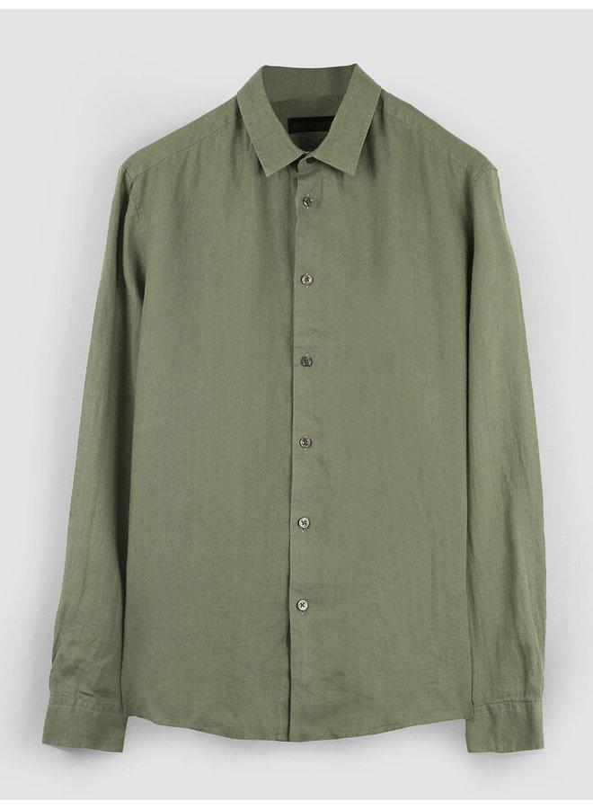 Ruben linnen shirt Green 2100