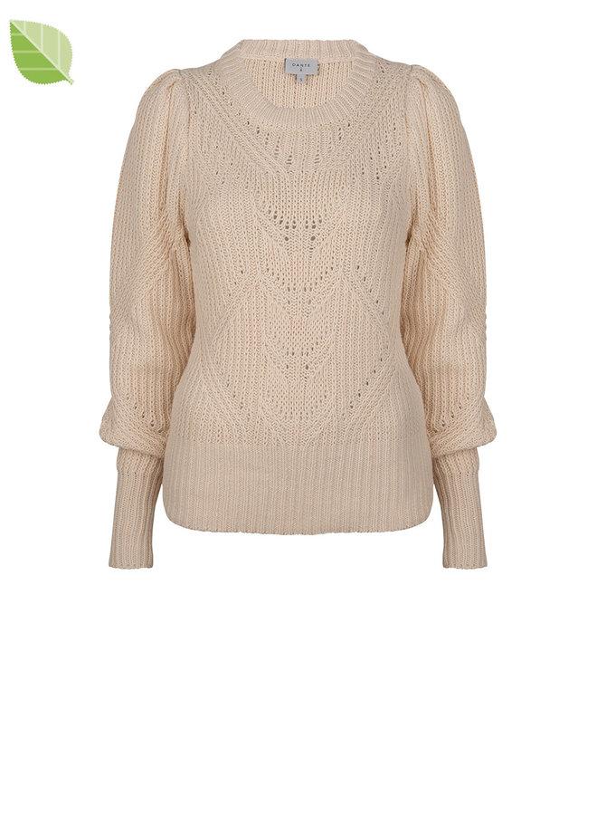 Cleo sweater Butter cream