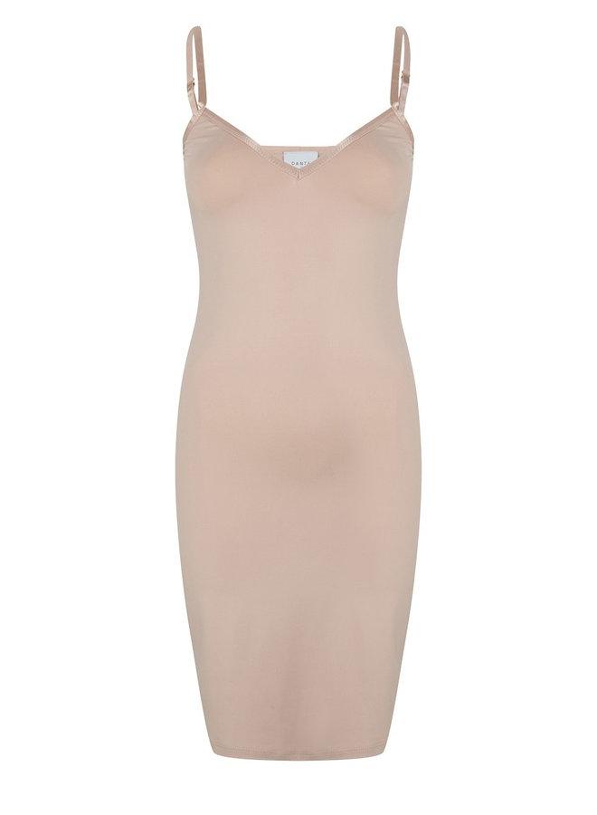 Blair slip dress nude
