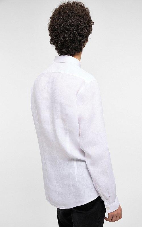 Ruben linnen shirt White 6000-2