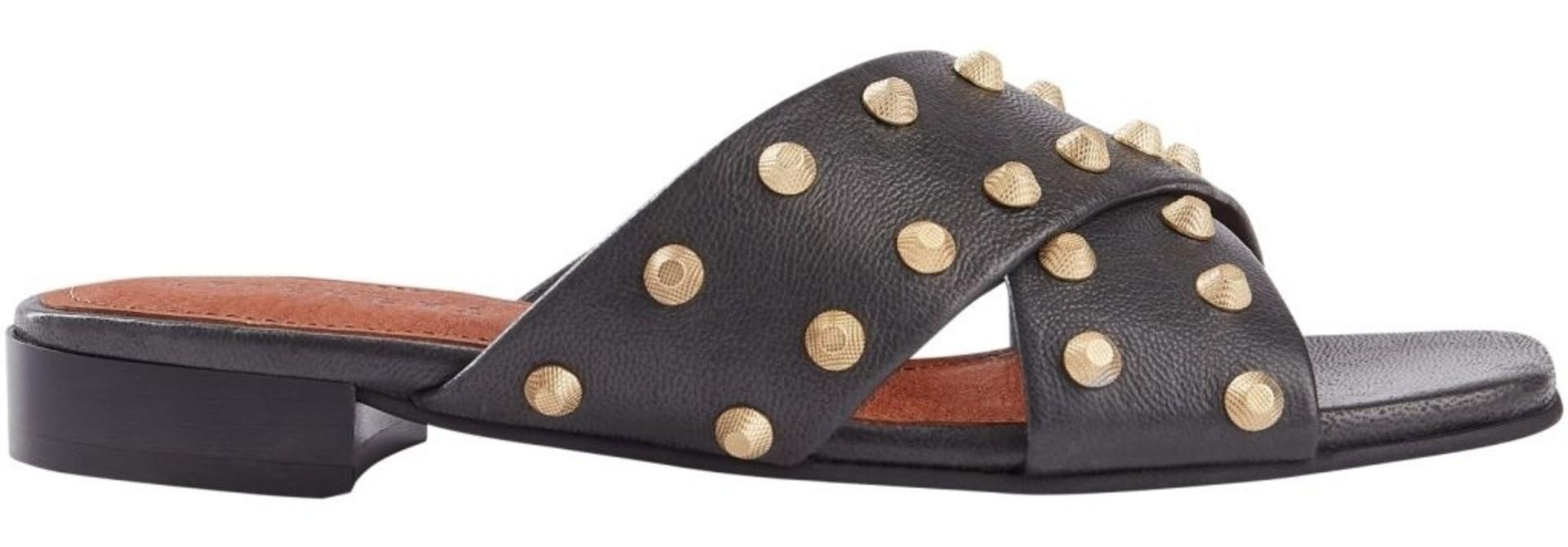 Giselle black slipper