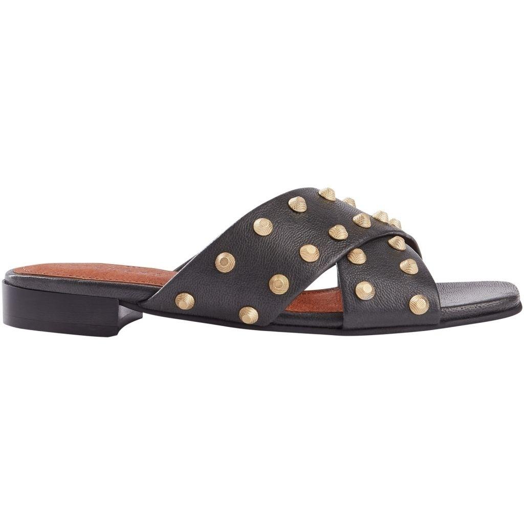 Giselle black slipper-1
