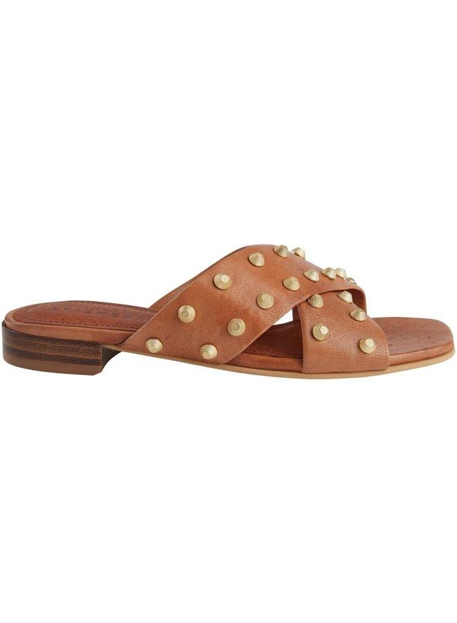 Giselle tan slipper
