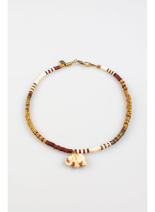 Laos Necklace Ivory