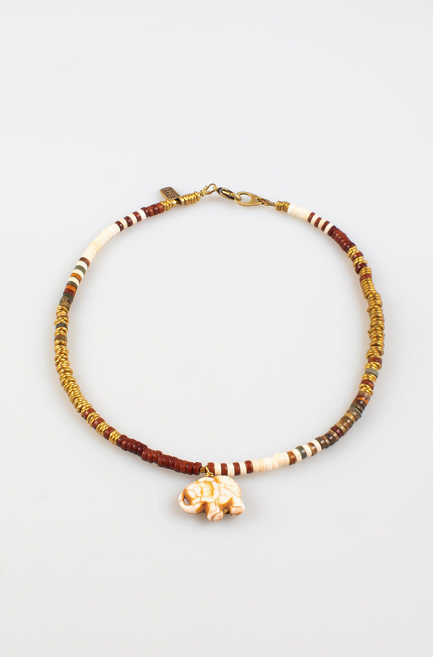 Laos Necklace Ivory-2