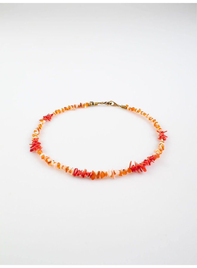 Mare Necklace Coral