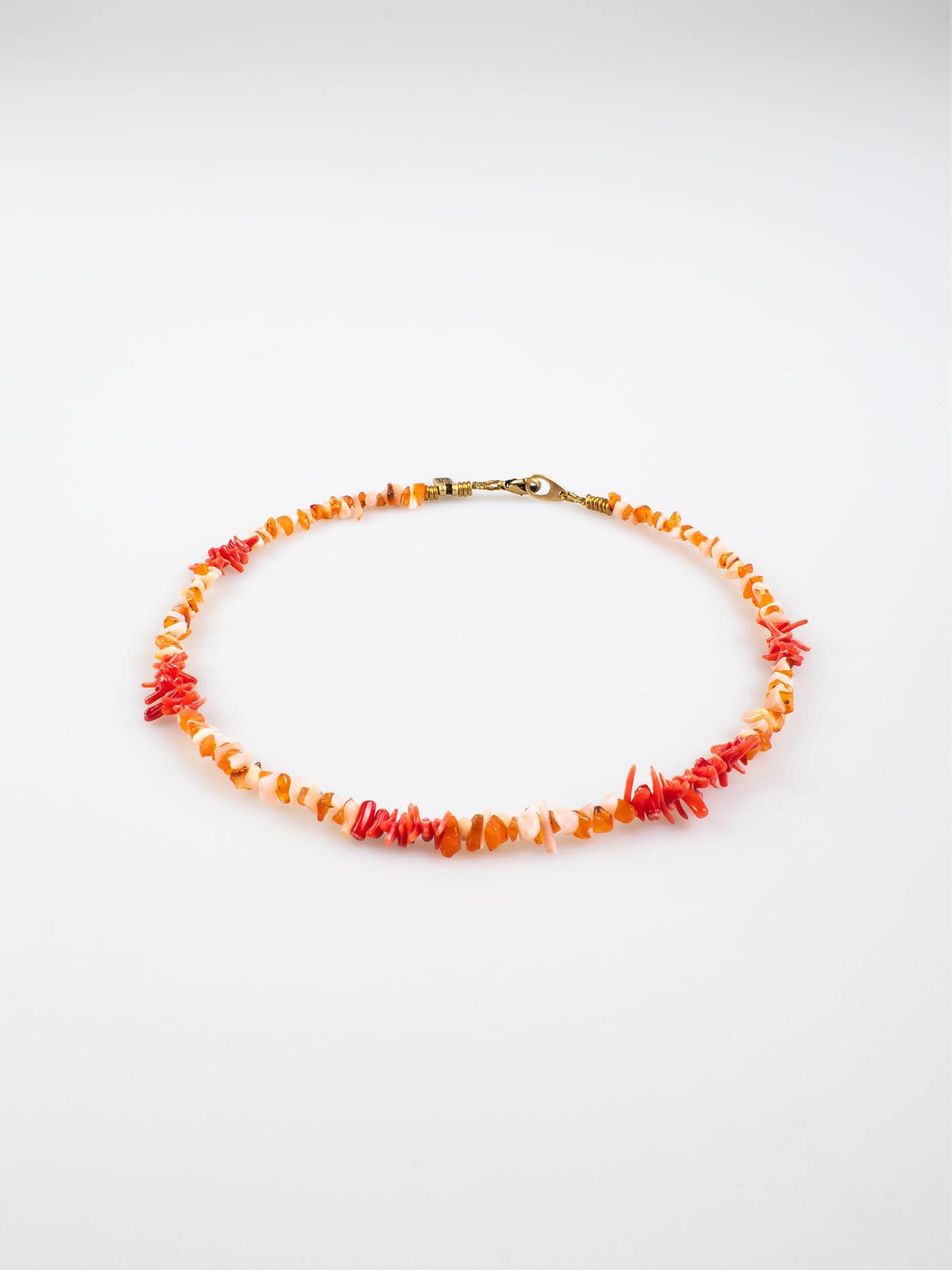 Mare Necklace Coral-1