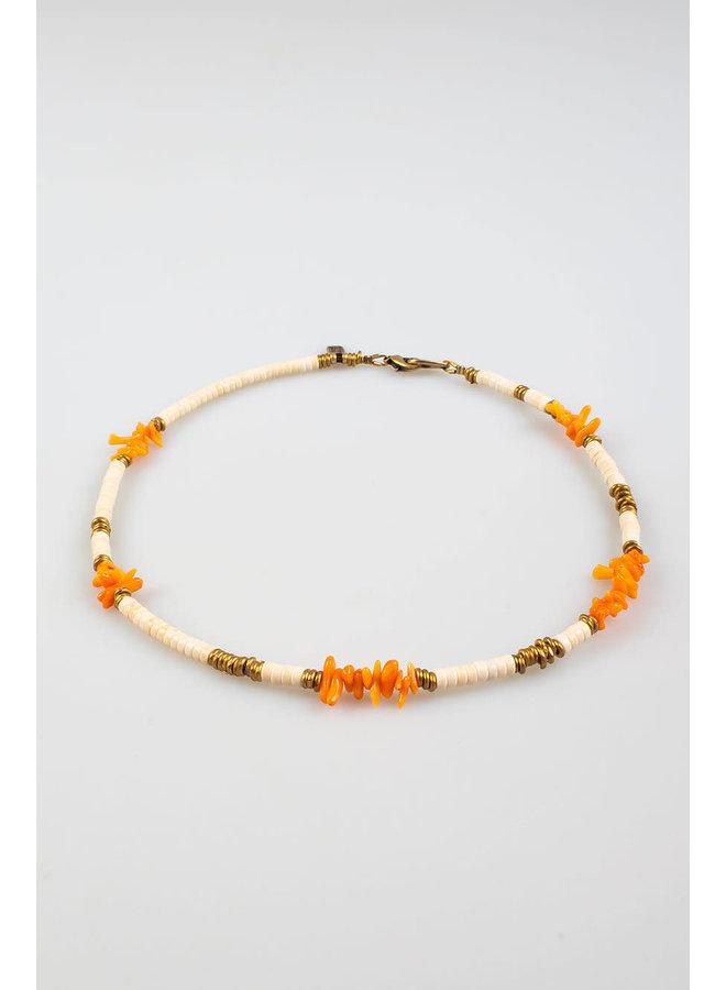 Maupiti Necklace Ivory S