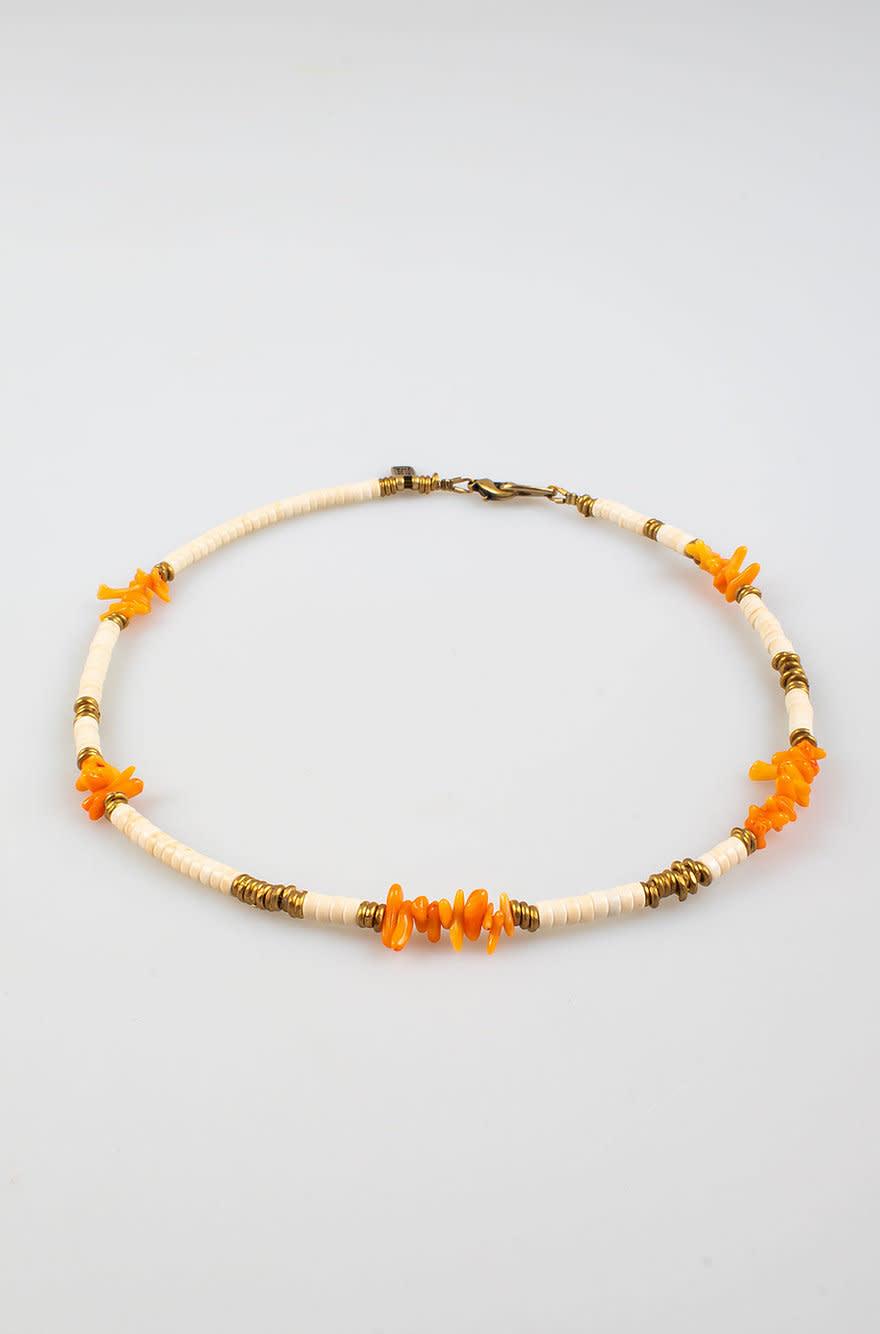 Maupiti Necklace Ivory S-1