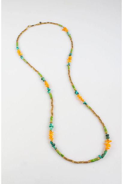 Maupiti Necklace Grass Large