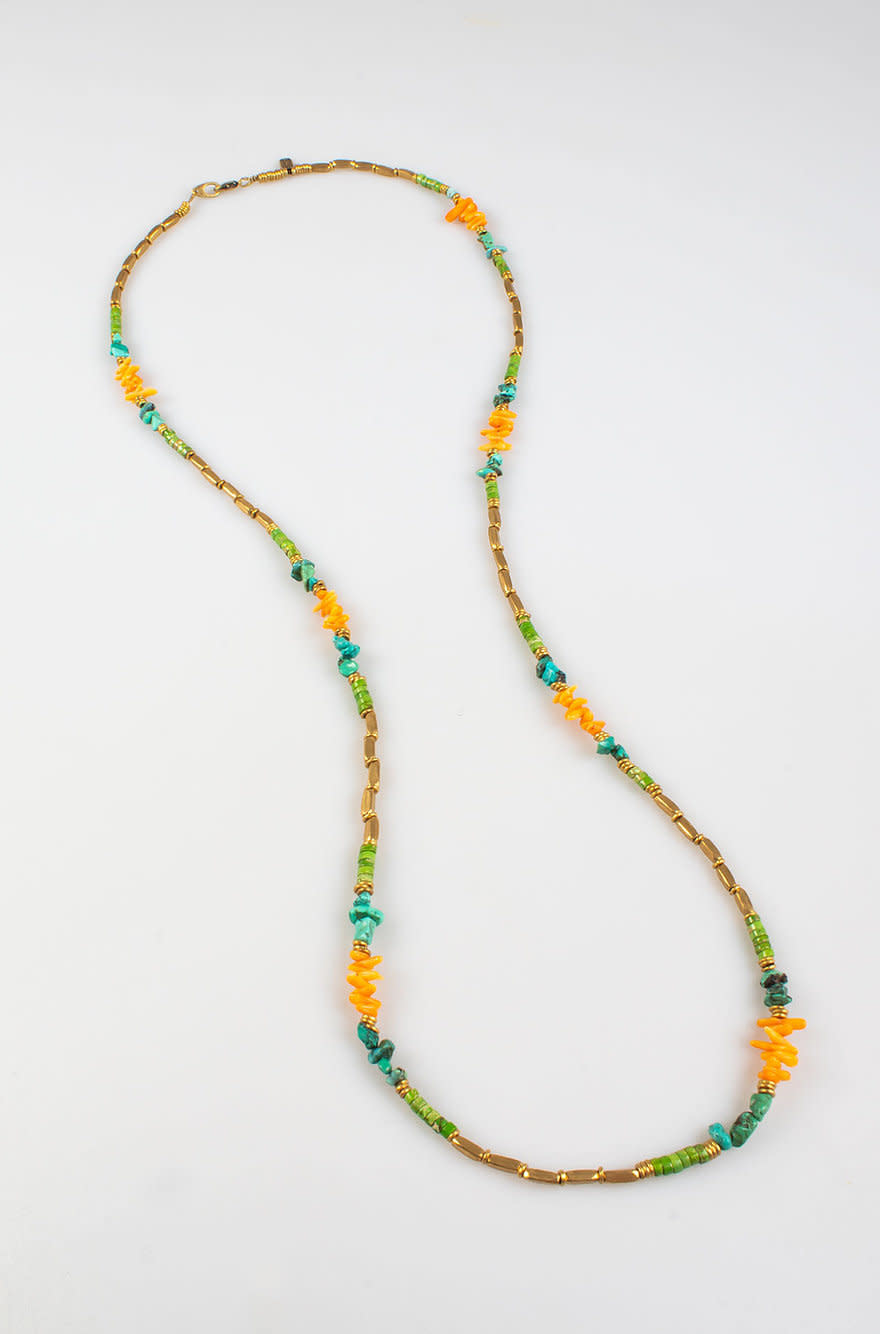 Maupiti Necklace Grass Large-1