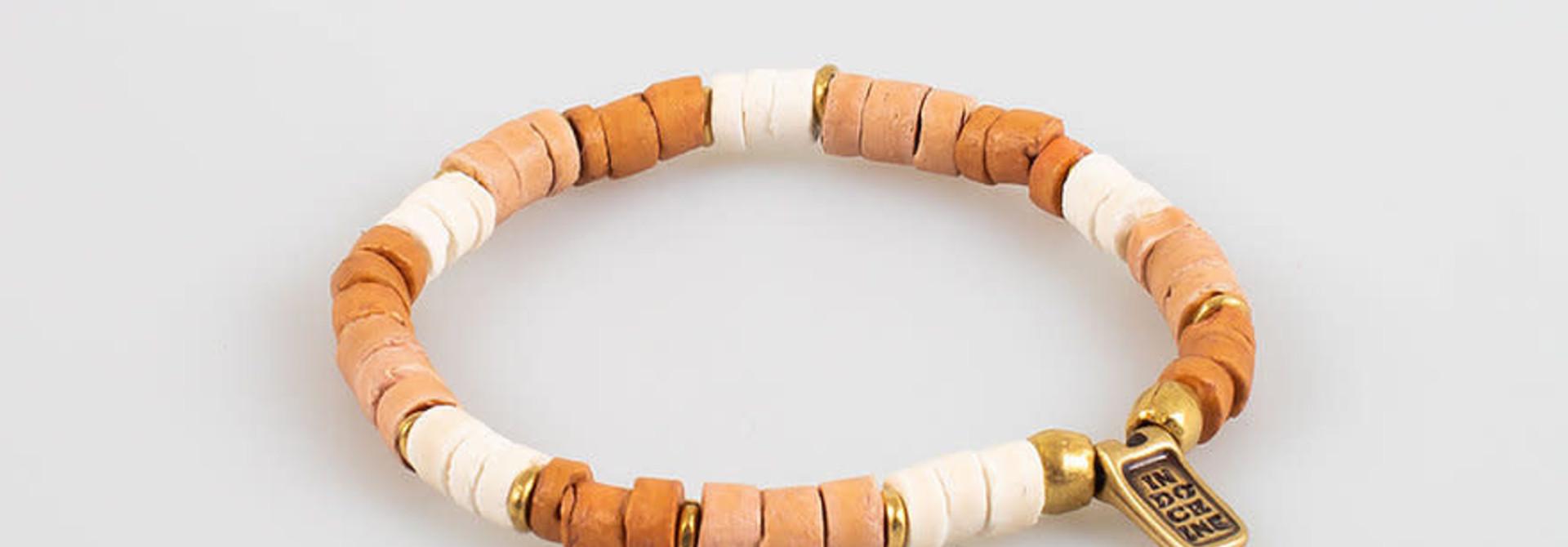 surf bracelet ivory