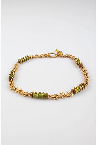 Freddo chain necklace grass