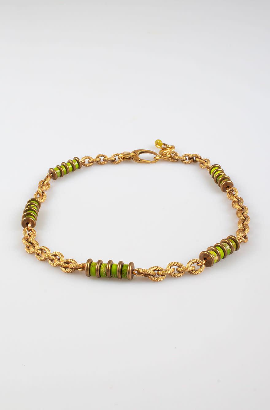 Freddo chain necklace grass-1