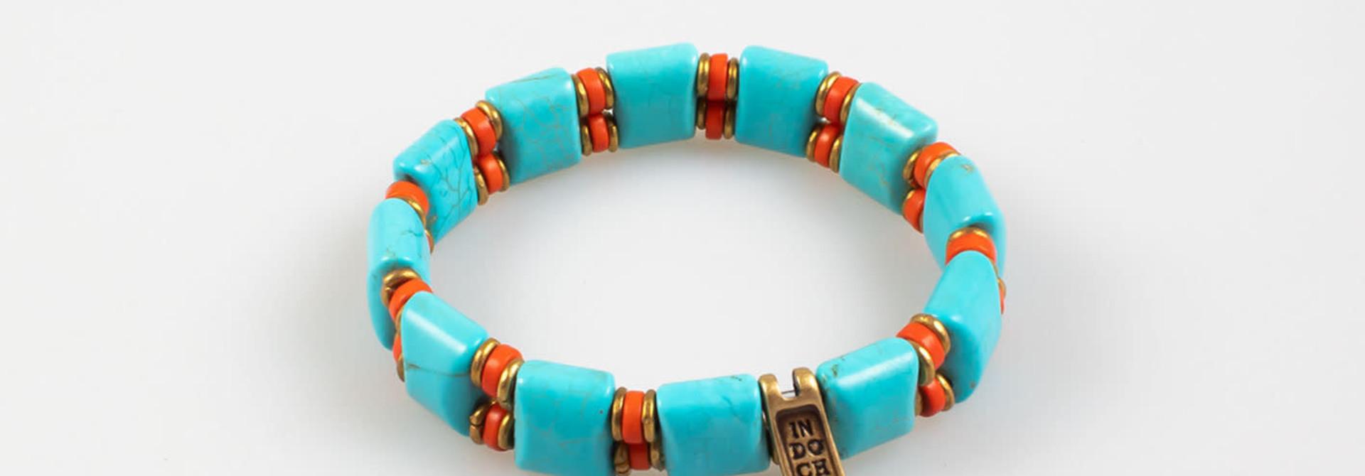 ida bracelet turquoise