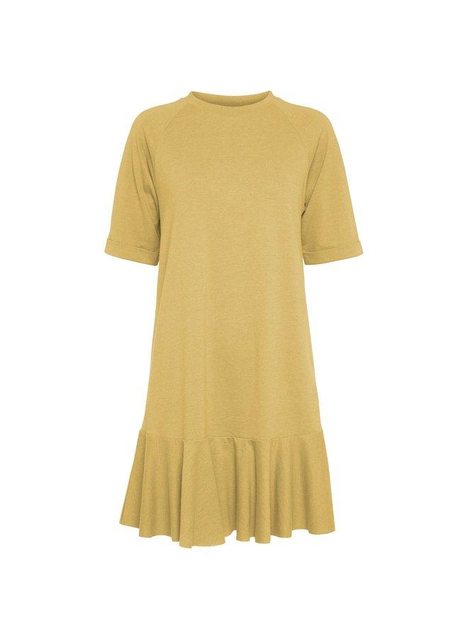 Payton Dress light dusty yellow
