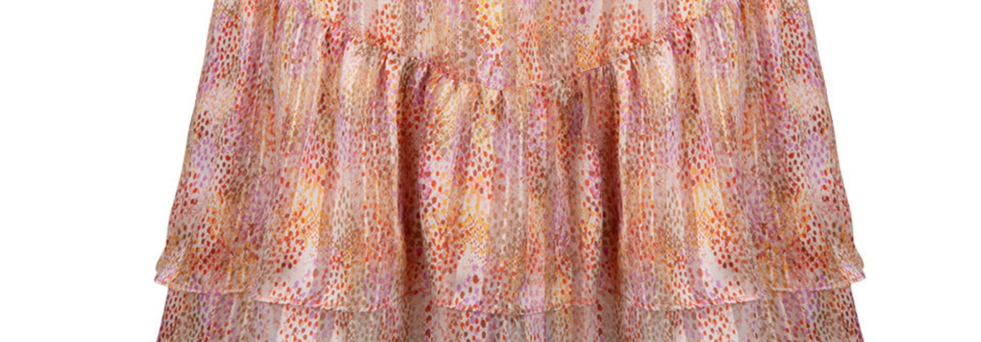 wonderous snake print skirt