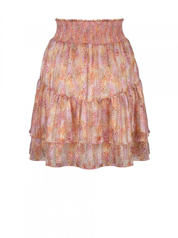 wonderous snake print skirt-3