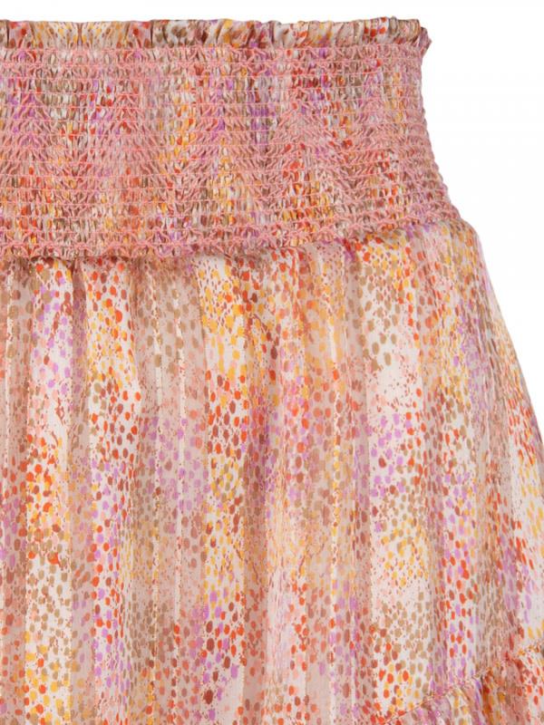 wonderous snake print skirt-4