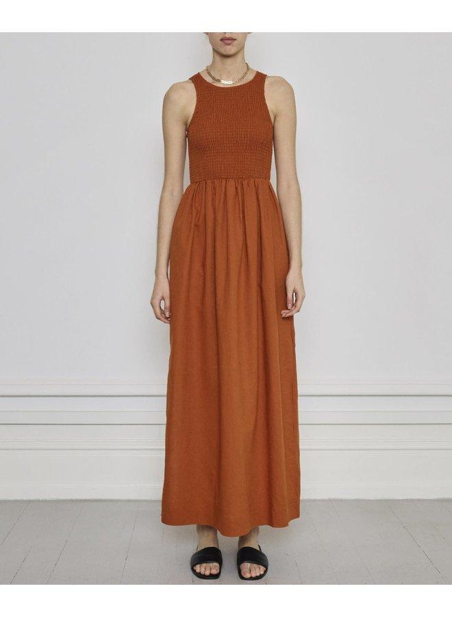 velvet smock dress