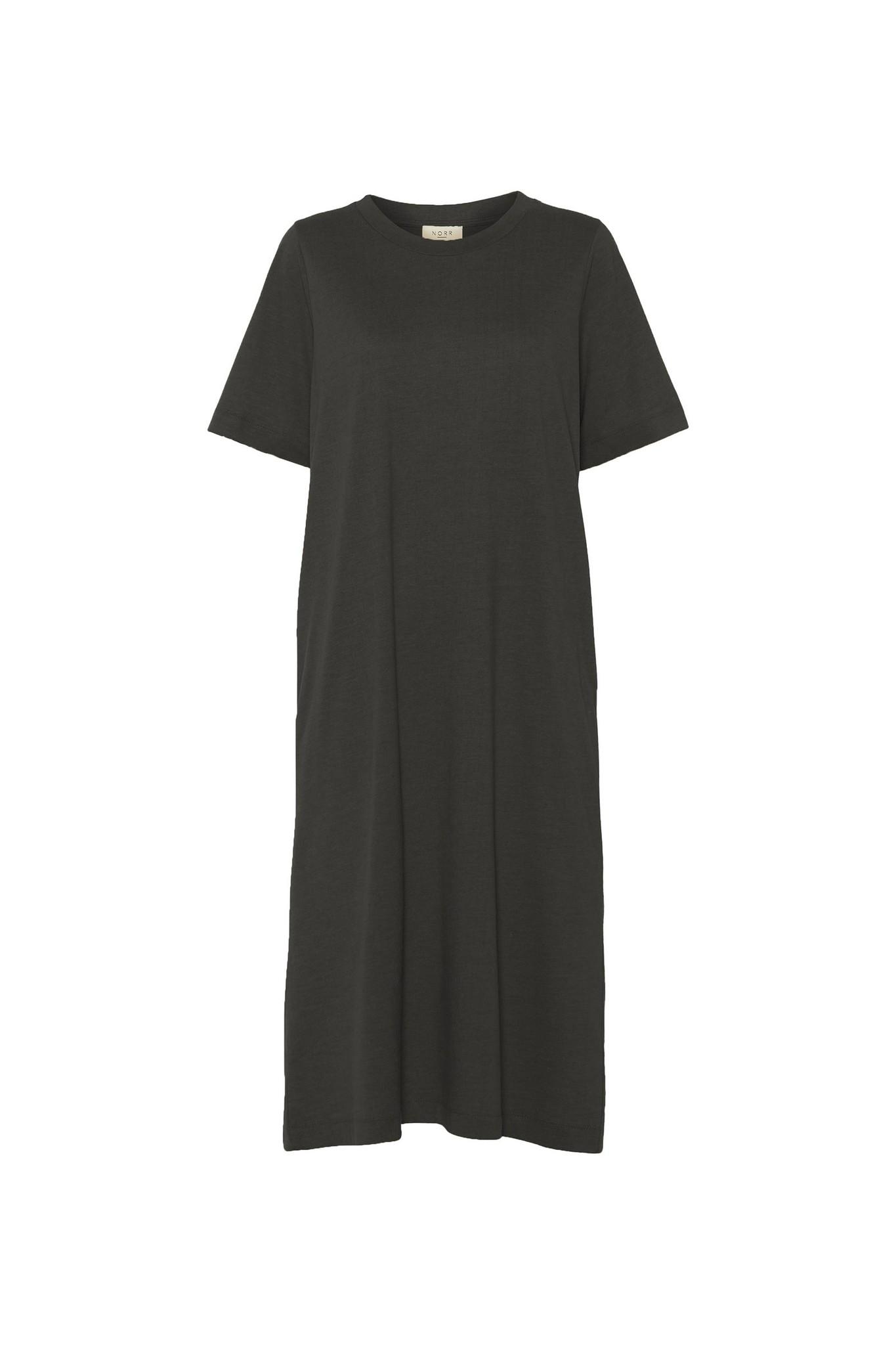 Payton  TEE Dress Black-1