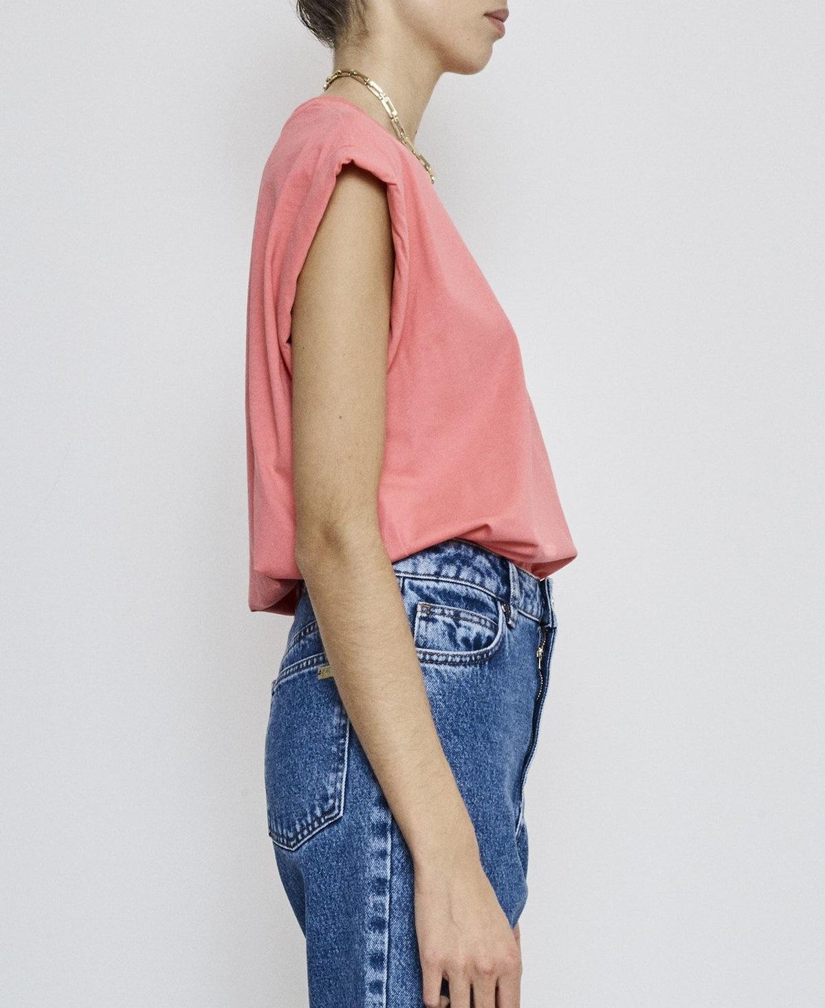Porter T-shirt pink Fire-3