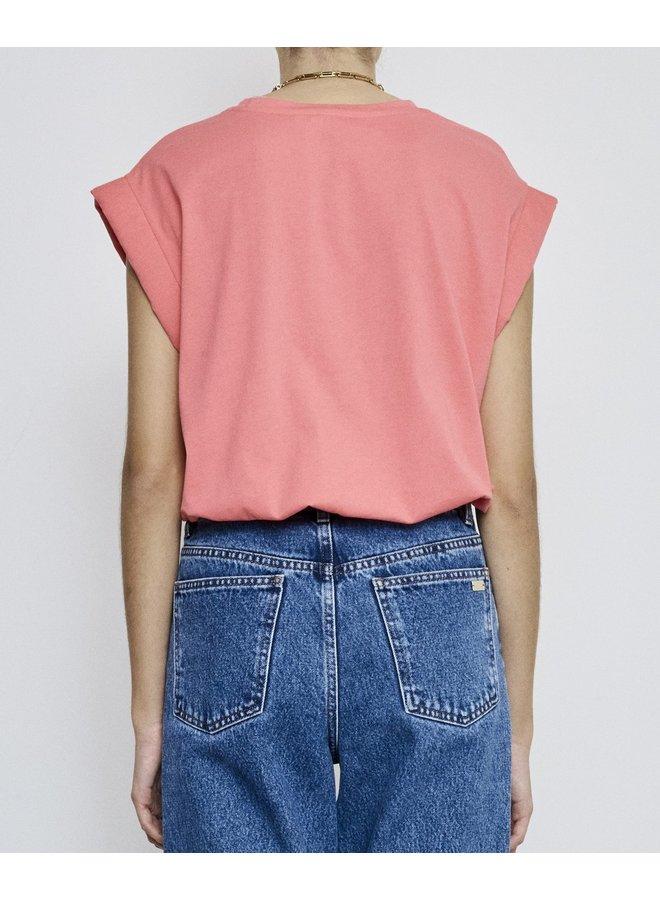 Porter T-shirt pink Fire