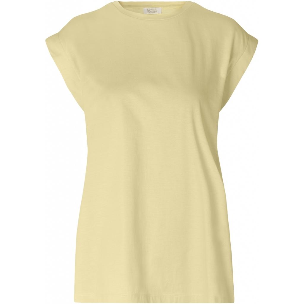 Porter T-shirt soft Lemon-1