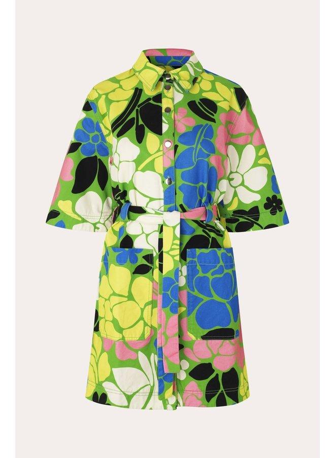 Carli printed dress